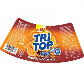 TRi TOP Sirup Orange-Cola Mix - 600 ml