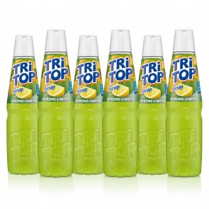 TRi TOP Sirup Zitrone-Limette 6er-Set je 600 ml
