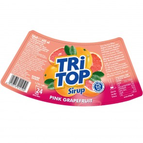 TRi TOP Sirup Pink Grapefruit - 600 ml