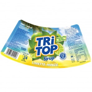 TRi TOP Sirup Limette-Minze - 600 ml
